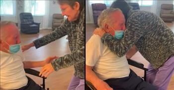 Couple Married 60 Years Reunite After 215 Days Apart