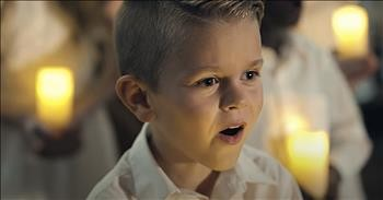'The Prayer' Children's Choir Performs Emotional Cover Of Josh Groban Hit