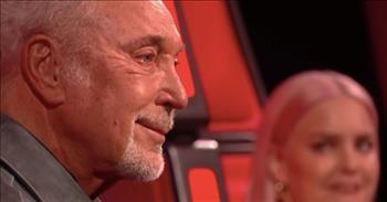 Sir Tom Jones Wipes Away Tears After Stevie Wonder Birthday Surprise