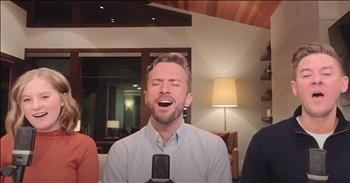'Hallelujah' A Cappella Performance From Peter Hollens And Father-Daughter Duo