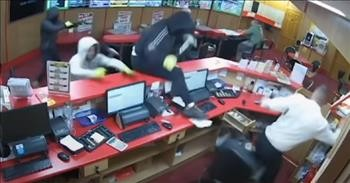 83-Year-Old Fends Off Armed Robbers With Just A Stool