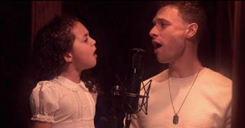 8-Year-Old Viral Voice Sings Sweetest Duet Of 'The Prayer'