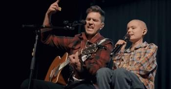 Andy Grammer Sings 'Don't Give Up On Me' Duet With Fan Fighting Cancer
