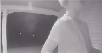 Doorbell Camera Captures Teen's Act Of Kindness For Bullied Friend