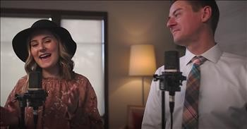 Father-Daughter Duet To Nat King Cole Classic 'L-O-V-E'