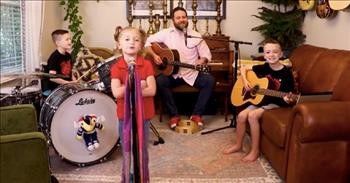 Family Band Sings 'How Sweet It Is (To Be Loved By You)'