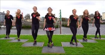 Talented Teens Amaze With Irish Dance Set Against Galway Backdrop