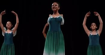 16-Year-Old With No Arms Defies Odds To Become Ballet Dancer