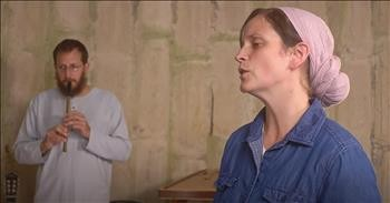 'Just As I Am' Hymn Performed In A Silo