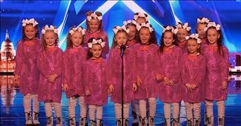 'Cute' Dance Crew Bores Simon Until Their Unexpected Outfit Change On BGT