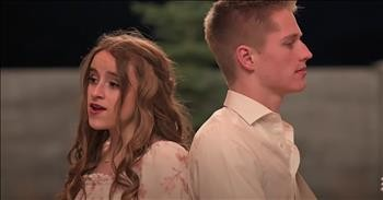 2 Teens Sing 'There Was Jesus' Duet From Dolly Parton And Zach Williams