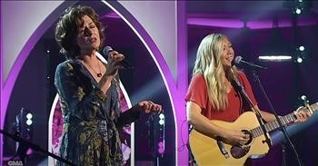 'A Woman' Beautiful Duet By Amy Grant And Ellie Holcomb