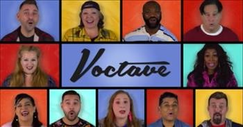 A Cappella Group Sings A Medley Of Our Favorite 90s TV Songs
