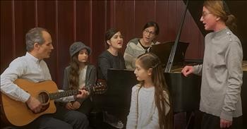 Christian Family Band Performs 'I Need Thee' Classic Hymn