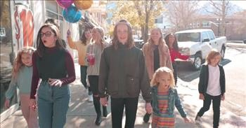 Children's Choir Sings Inspiring Rendition Of 'Ain't No Mountain High Enough'