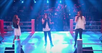 Trio Of Teens Sing 'Bohemian Rhapsody' On The Voice Kids