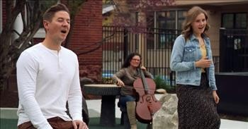 Father-Daughter Duet To 'Somewhere Over The Rainbow'