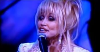 Classic Clip Of Dolly Paron Singing 'Stairway To Heaven'