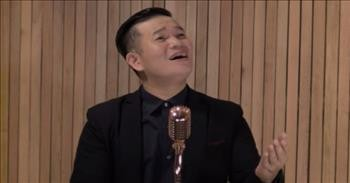 Dad Sings Powerful Rendition Of 'How Great Thou Art'