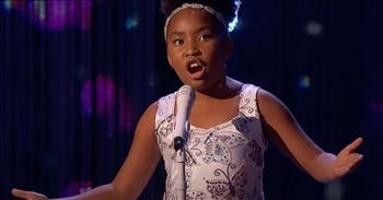 10-Year-Old Victory Brinker Shows Off Big Voice With 'O Mio Babbino Caro'