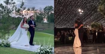 Luke Bryan Walks Niece Down The Aisle And Shares Wedding Dance