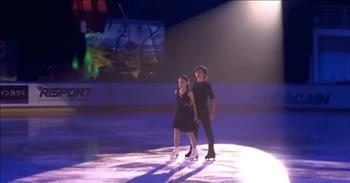 Siblings Perform Gravity-Defying Ice Skating Routine