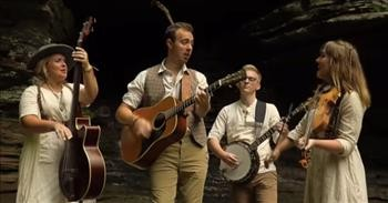 Southern Raised Bluegrass Sings Johnny Cash Classic 'Sixteen Tons'