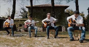 Guitar Quartet Performs Unique Rendition Of 'Mamma Mia' By ABBA