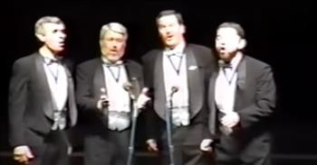 Barbershop Quartet Performs Mary Poppins Medley