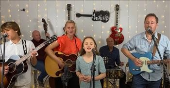 Talented Family Band Belts Out 'Daddy Sang Bass'