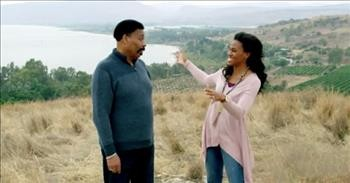 'Journey With Jesus' Trailer Features Tony Evans And Daughters In Holy Land