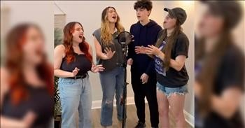Siblings Sing Chilling Rendition Of 'How Great Thou Art'