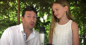 Father-Daughter Duet To 'Hallelujah' By Adrian And Emma-Jean