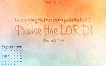 September 2021 - Praise the Lord!