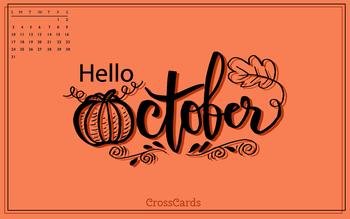 October 2021 - Hello October