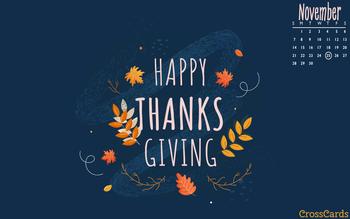 November 2021 - Thanksgiving