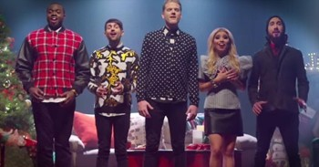 Thats Christmas To Me.Incredibly Talented A Cappella Group Sings That S Christmas To Me Christian Music Videos