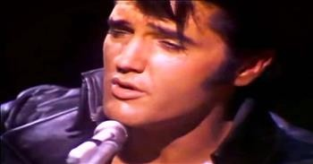 elvis singing blue christmas will take you way back - Elvis Blue Christmas