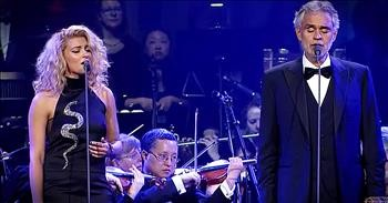 Andrea Bocelli And Tori Kelly Sing 'The Prayer' - WOW! - Christian Music  Videos
