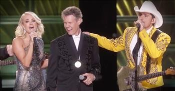 Country Artists Help Randy Travis Sing 'Forever And Ever Amen' After Stroke  - Christian Music Videos