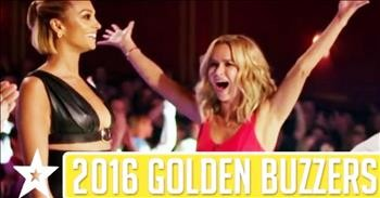 Amazing Golden Buzzer Moments From Britain's Got Talent - Inspirational  Videos