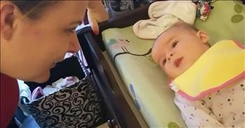 5 Month Old Baby Says I Love You Cute Videos