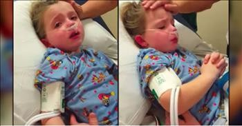 Sick Little Girl Visits Heaven And Miraculously Is Healed
