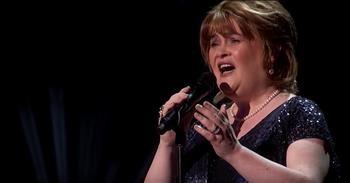 Susan Boyle Earns First Golden Buzzer On America's Got Talent -  Inspirational Videos