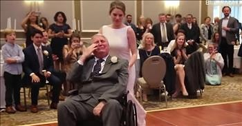 Dying Father Shares First Dance With Daughter At Her Wedding