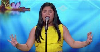 10 Inspirerende Hallen : 10 year olds barbra streisand audition earns golden buzzer