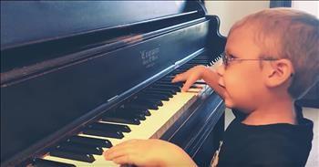 38563b5348b 6-Year-Old Blind Pianist Plays  Bohemian Rhapsody  - Cute Videos