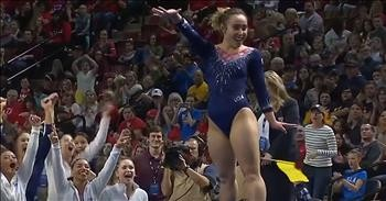 Katelyn Ohashi Earns Another Perfect 10