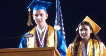 He Was SHOCKED When They Said Not To Talk About God In His Speech – He Did It Anyway