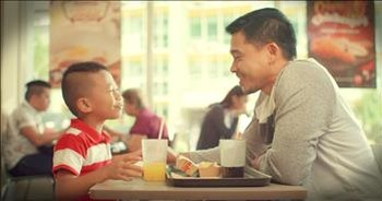 Little Boy Reminds Us Why Dads Are Superheroes
